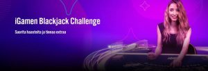 iGame ja Blackjackin huikea haasteviikko