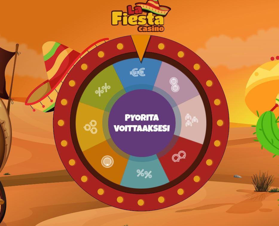 La Fiesta Casinon onnenpyörä