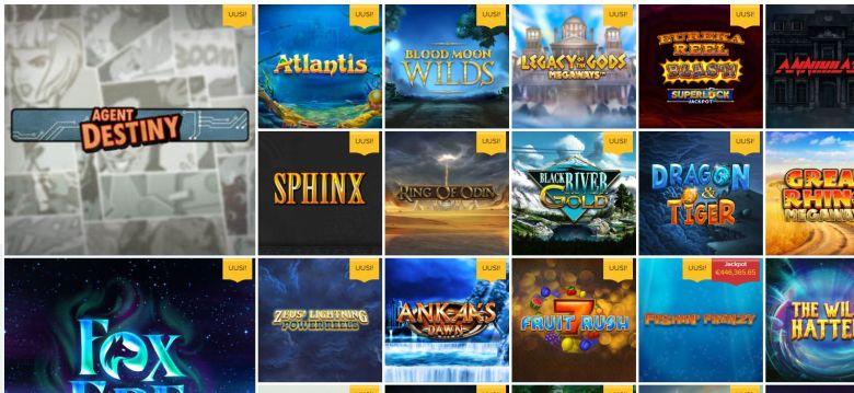 Ahti Games - uudet pelit